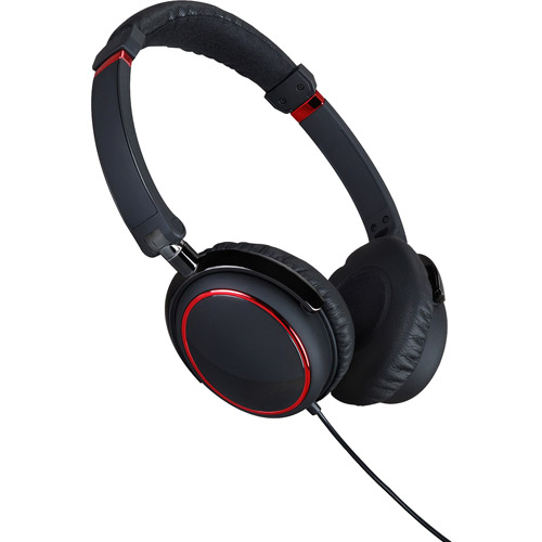 iGo Memphis Headphones, Black/Red