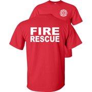 V2 Fire Rescue T-Shirt Maltese Cross Firefighter