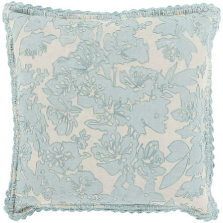 Evelyn Gray and Pink 20-Inch Pillow Cover ()