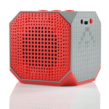 Blackweb Soundplay Wireless Bluetooth Speaker, Water Resistant, 6