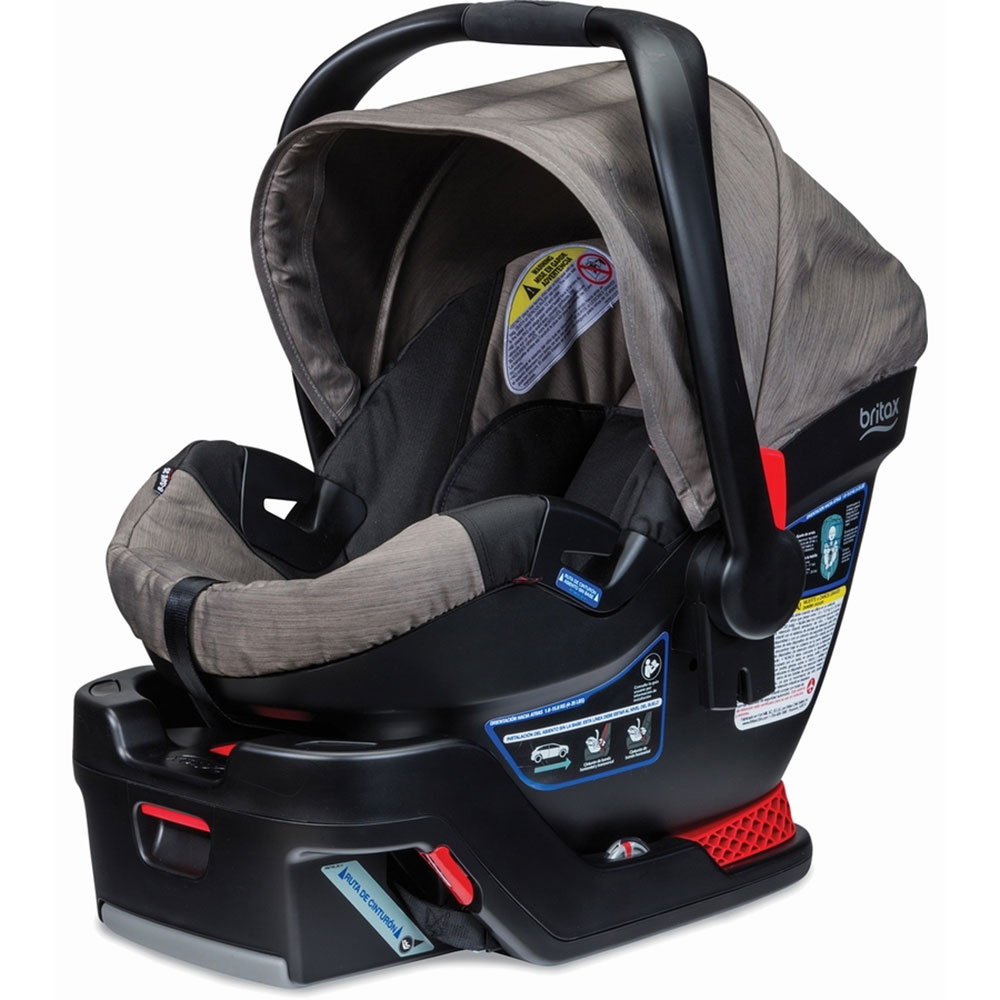 Britax B Safe 35 Side Impact Protection Infant Car Seat with Base, Slate Strie