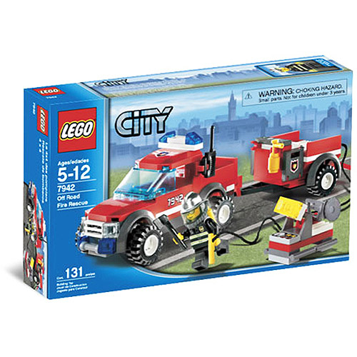 LEGO City Off-Road Fire Truck Set