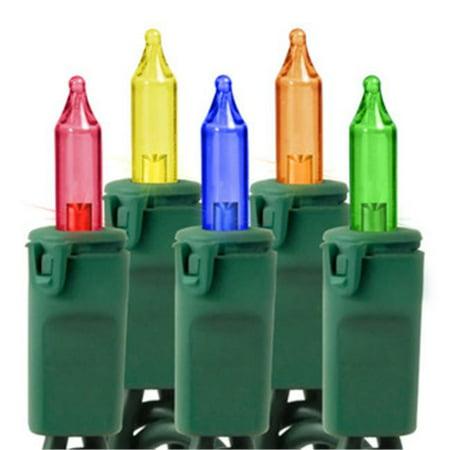 Winterland MINI-20-150-6-M Multi Colored Incandescent Mini Lights - Halloween Mini Corn Dogs