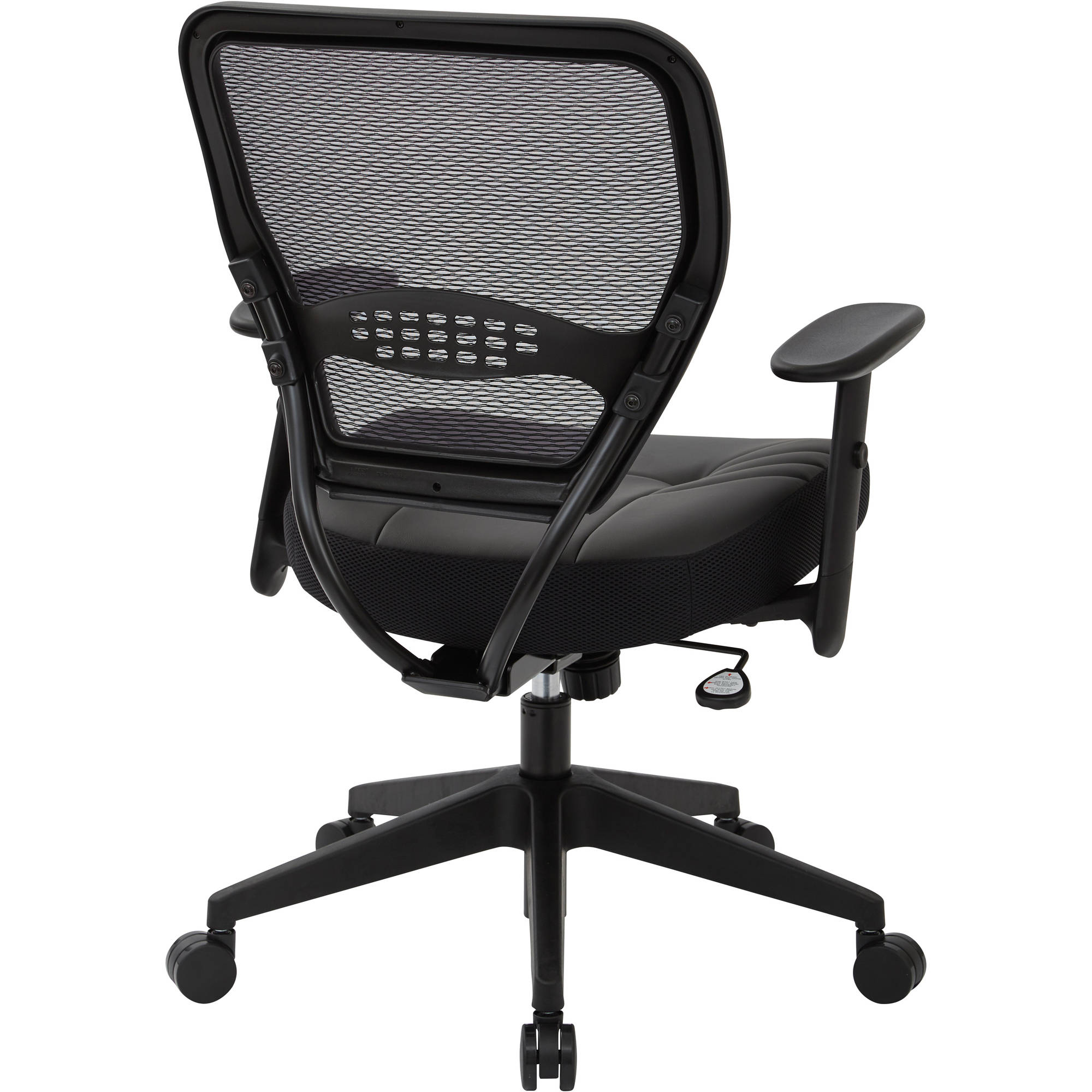 Office Star Professional Air Grid Deluxe Task Chair space seating professional dark air grid back managers chair with