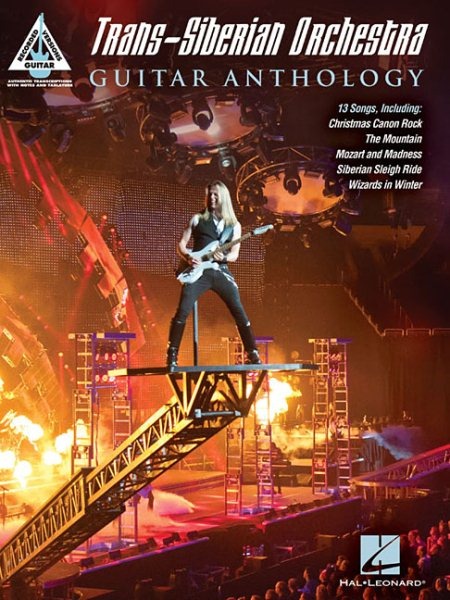 Click here to buy Trans-Siberian Orchestra Guitar Anthology by Hal Leonard Publishing Corporation.