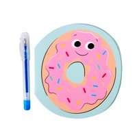 Way to Celebrate Notepad with Pen, Donut