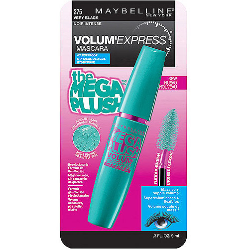 Maybelline Volum' Express Mega Plush Waterproof Mascara