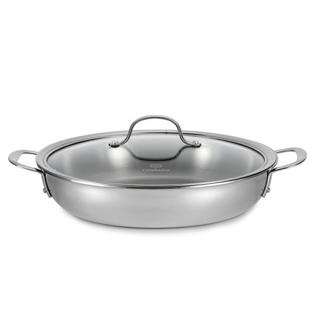 Calphalon Tri Ply 12 Inch Stainless Steel Everyday Pan