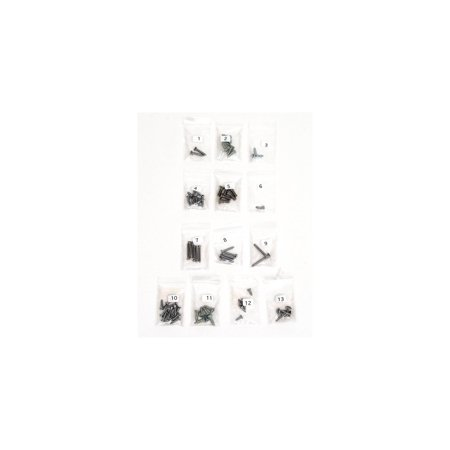 Eckler's Premier  Products 40-175841 Full Size Chevy Interior Screw Set, Convertible,