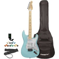 Sawtooth ES Series Electric Guitar Kit with ChromaCast Gig Bag & Accessories