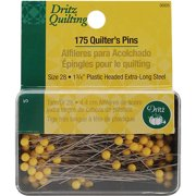 "Dritz Quilting Quilter's Pins, 1-3/4"", 175pk"