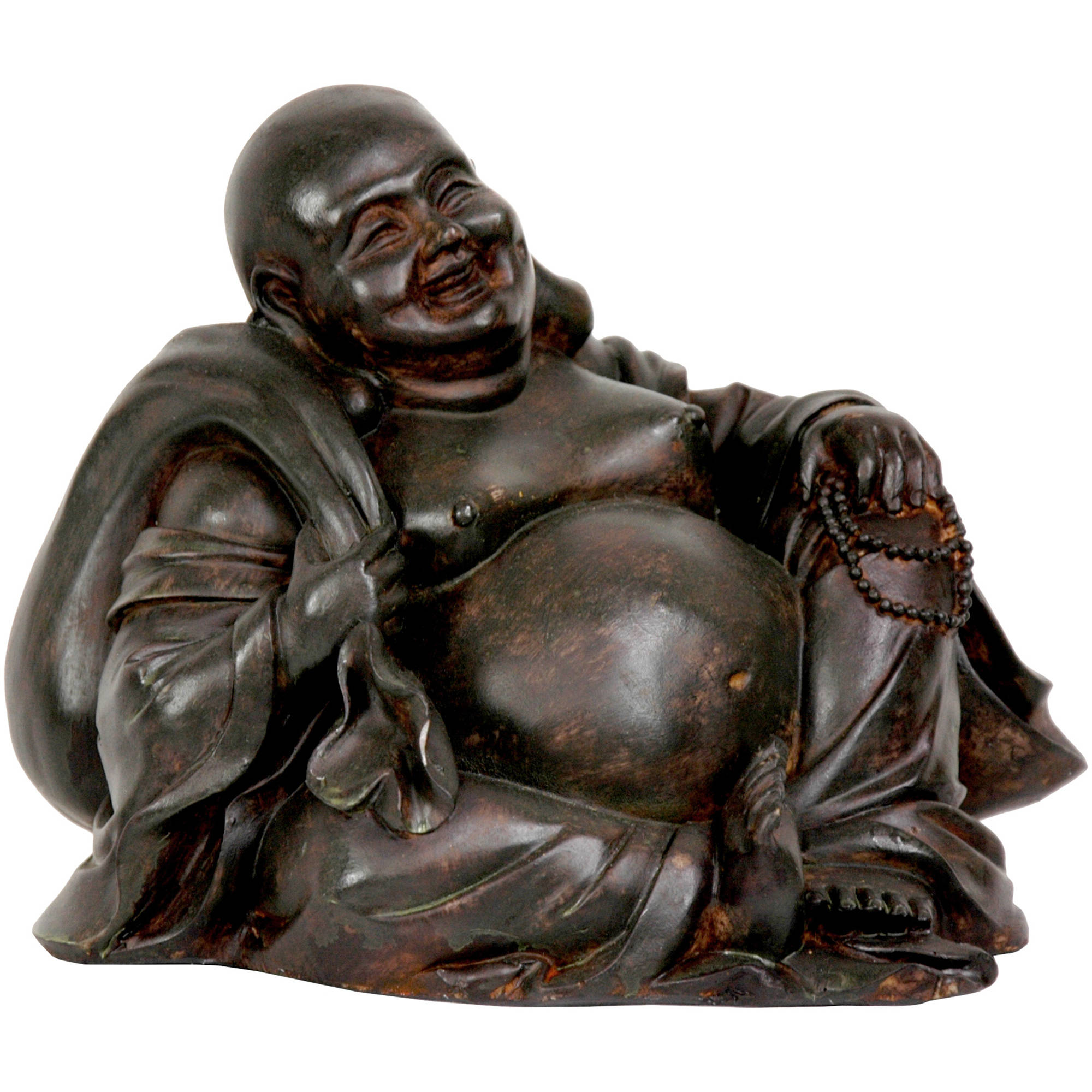 "5"" Sitting Happy Buddha Statue"