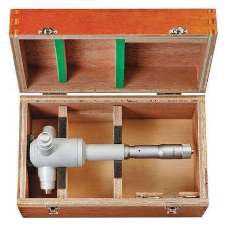 Mitutoyo 368-875 Inside Micrometer,5 to 6 in.,Anvil Flat ...