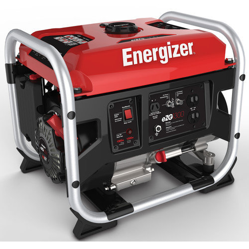 ENERGIZER 1,300 Watt Portable Gasoline Generator with Manual Recoil Start