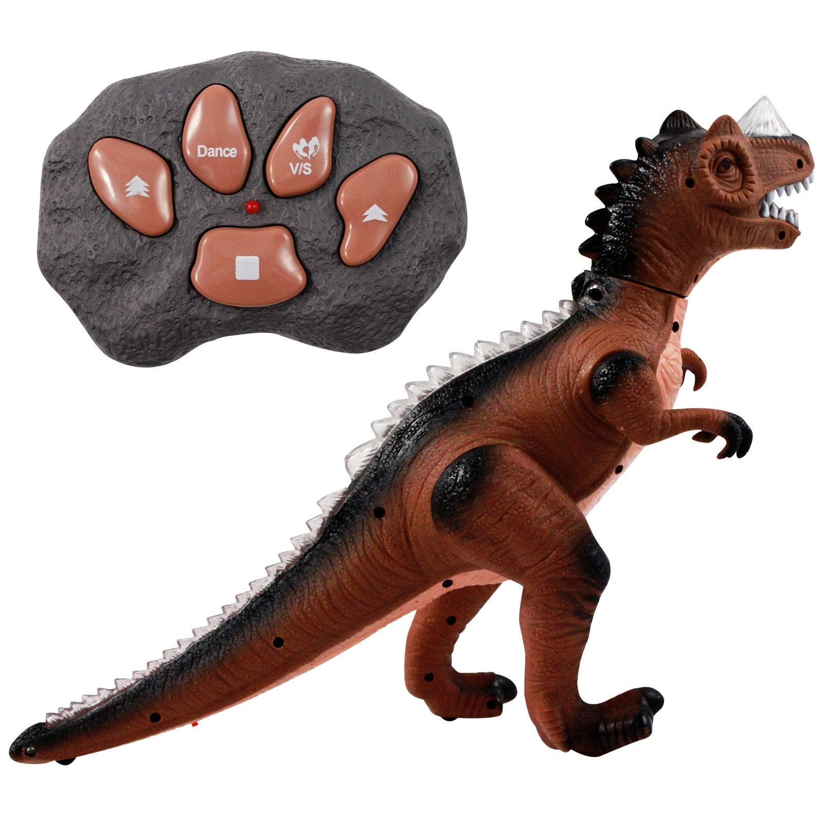 Dino Control Jurassic Rex RC Dinosaur Predator With Lights and Sounds (2 Colors)