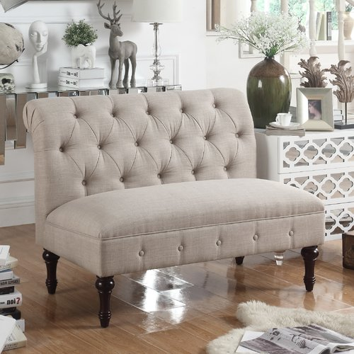 Ophelia & Co. Lauryn Tufted Chesterfield Loveseat