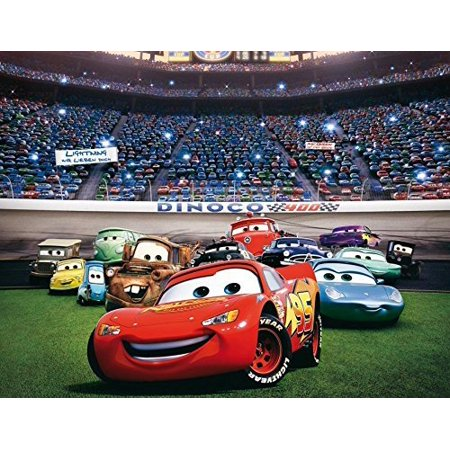 Cars Disney Mcqueen Birthday Edible Image Photo 1/4 Quarter Sheet Cake Topper Personalized Custom Customized Birthday Party for $<!---->