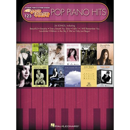 Ez Play Piano - Hal Leonard Pop Piano Hits E-Z Play 123
