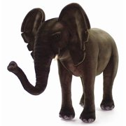 Ride-On Elephant Plush Stuffed Animal