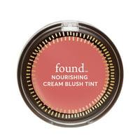 FOUND NOURISHING Cream Blush Tint with Evening Primrose, 30 Petal Flush, 0.159 fl oz
