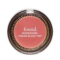 FOUND NOURISHING Cream Blush Tint with Evening Primrose, 30 Petal Flush, 0.159 fl oz