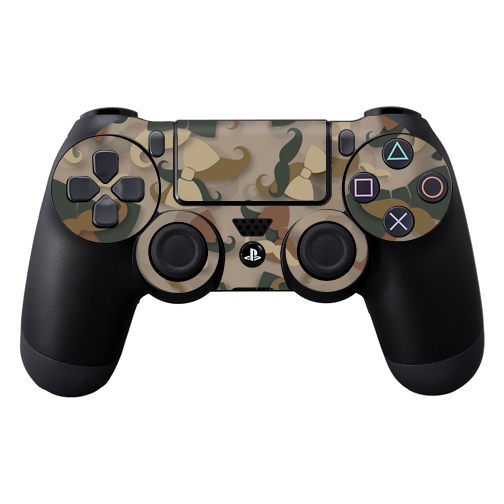 Mightyskins Protective Vinyl Skin Decal Cover for Sony PlayStation DualShock 4 Controller wrap sticker skins Hipster Camo