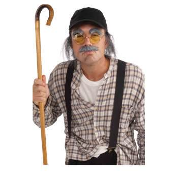 Adult Old Man Halloween Costume Kit - Old Men Costume