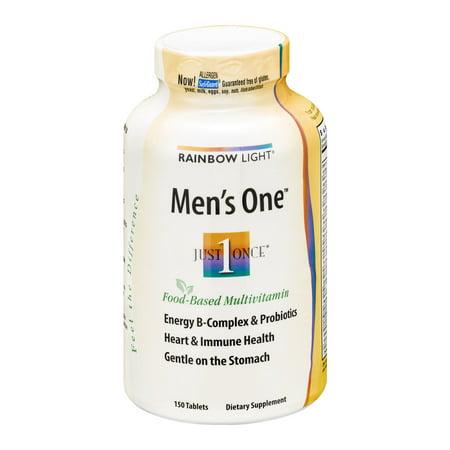 Rainbow Light Men S One Tablets 150 Ct Walmart Com