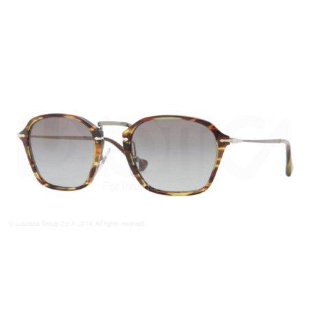 "Authentic Persol Sunglasses PO3047/S 938/M3 Havana Frames Gray Lens 49MM"""