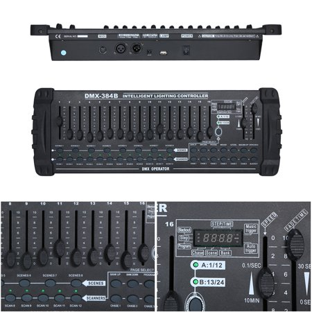 AC110-240V Mini 384 Channels Controller Console Stage