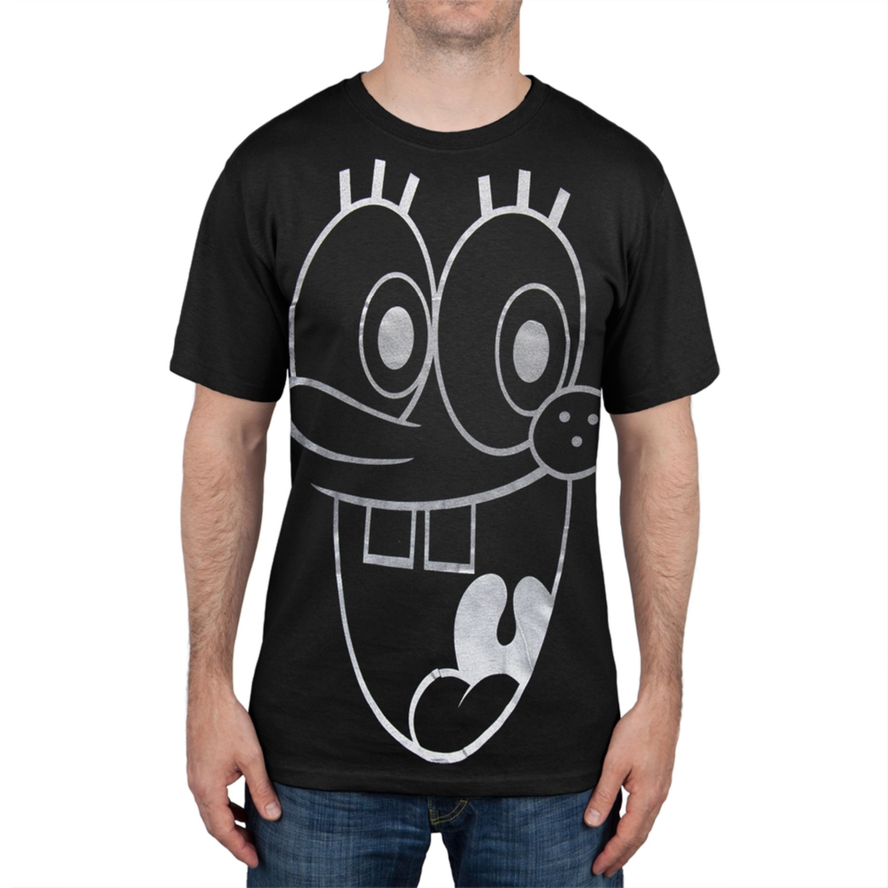 Spongebob Squarepants - Big Face Foil T-Shirt