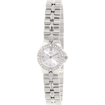 Invicta Women's Wildflower 0132 Silver Stainless-Steel Swiss Quartz Fashion Watch