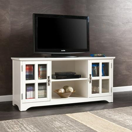 Southern Enterprises Remington TV Media Stand White by