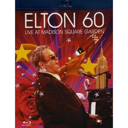 Elton 60  Live At Madison Square Garden  Blu Ray