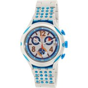 Swatch Men's Irony YYS4007AG Silver Aluminum Swiss Quartz Fashion Watch