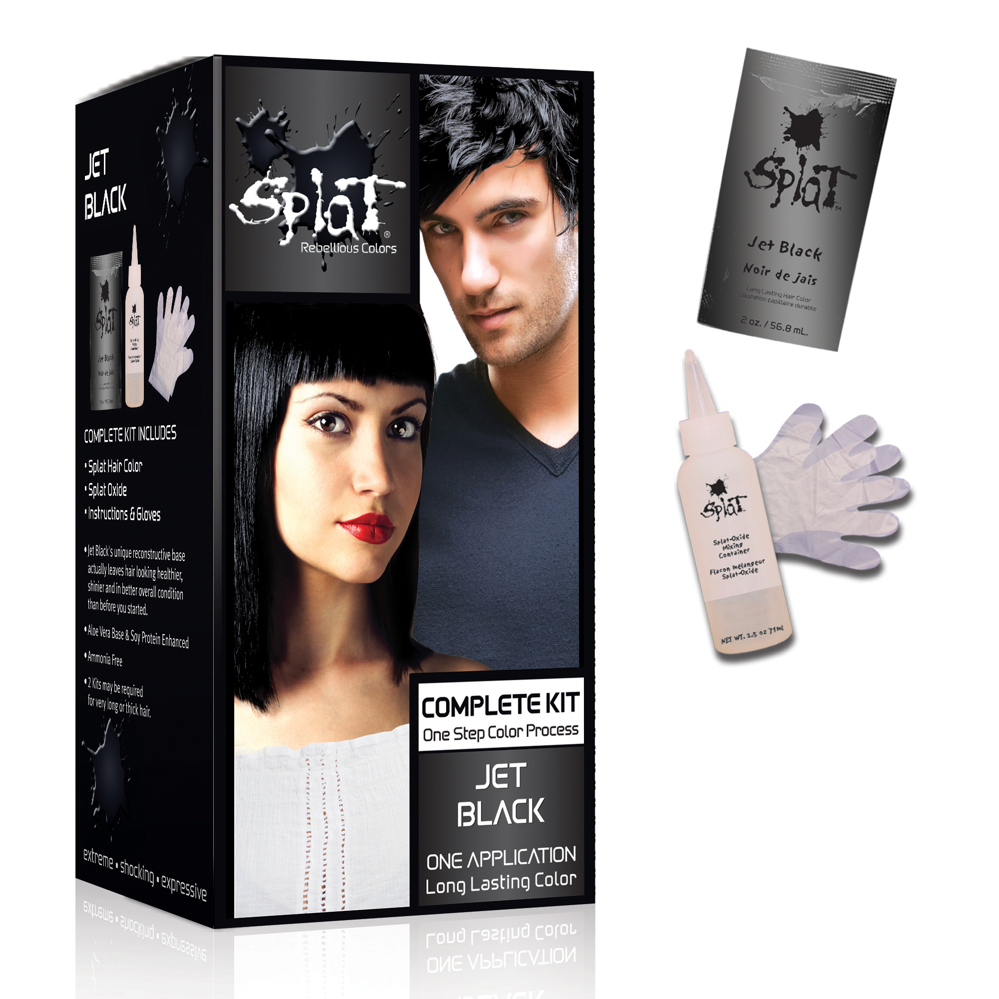 Splat Lightening Bleach Semi Permanent Hair Dye For All Hair