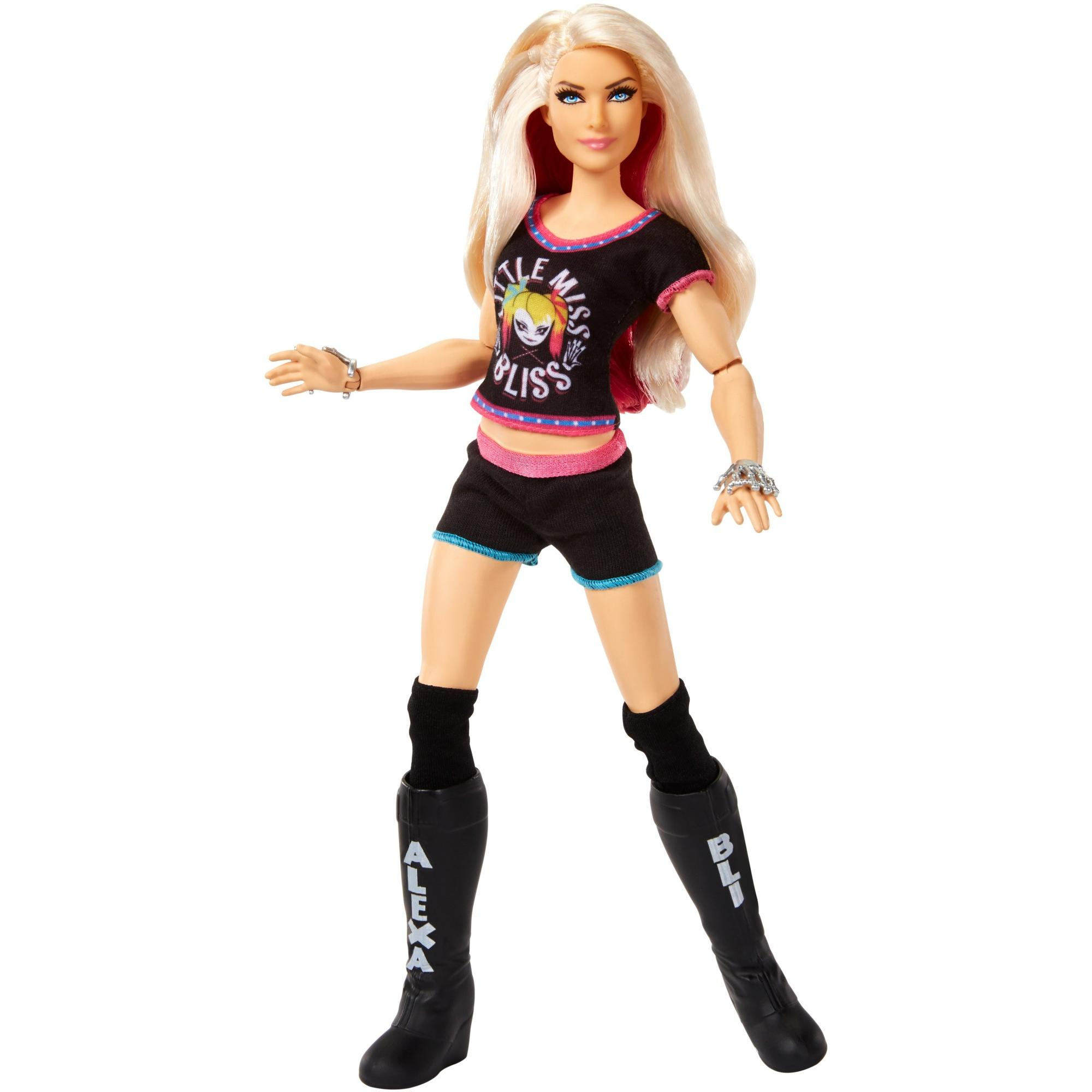 WWE Superstars Alexa Bliss 12-inch Posable Fashion Doll Plus 1 Outfit