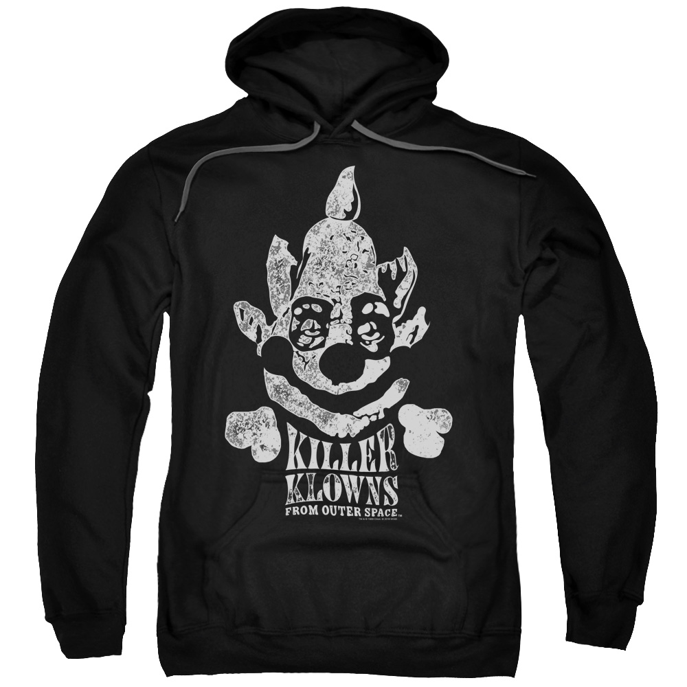 Killer Klowns From Outer Space/Kreepy   Adult Pull Over Hoodie   Black   Mgm334