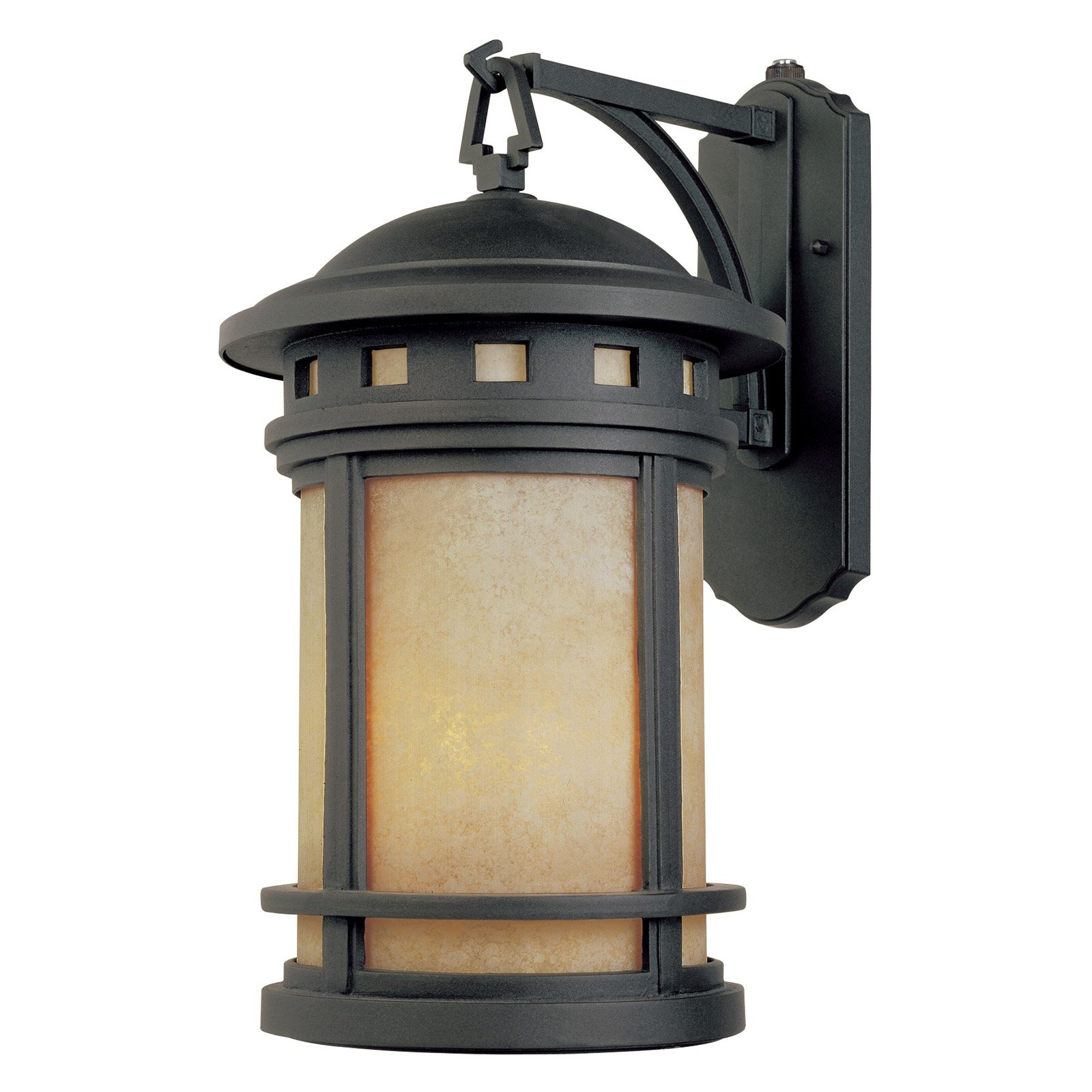 Designers Fountain Outdoor ES2371-AM-ORB Sedona-ES Wall Lantern
