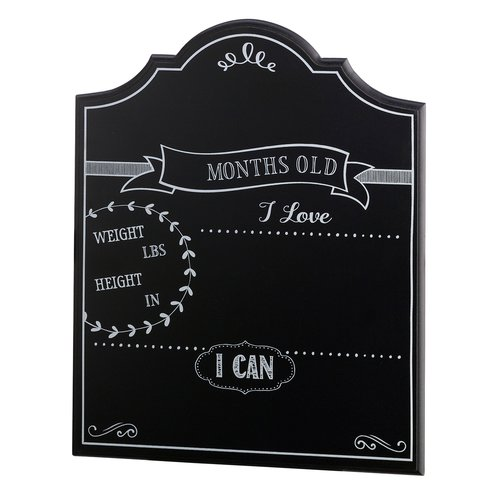 Le Prise Baby Monthly Wall Mounted Chalkboard