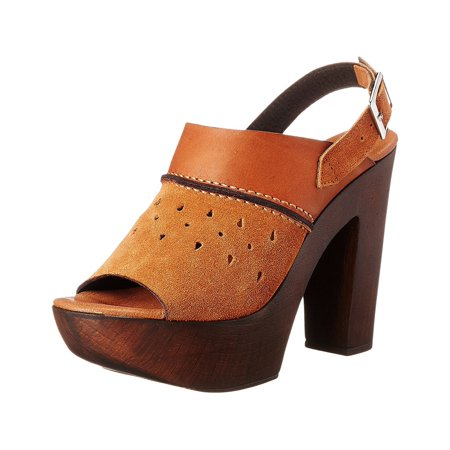Charles By Charles David Womens Tazz, Cognac Leather, Size 9.0