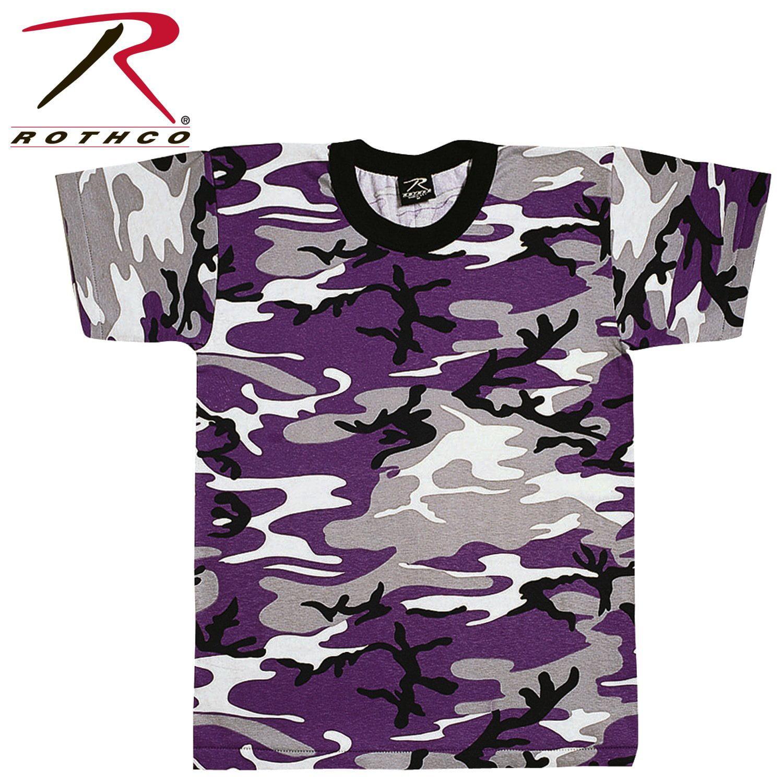 Ultra Violet Camouflage T-shirt