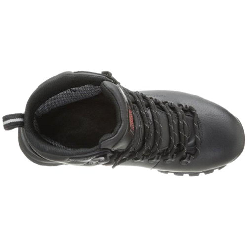 Skechers for Work Men's Vostok Slip Resistant Work Boot,Black,10 M US