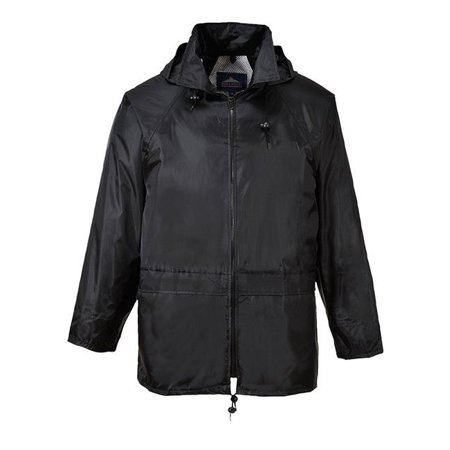 Classic Rain Jacket, Black, 4X - James Coat