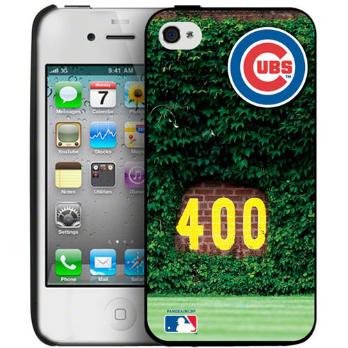 Iphone 4/4S Hard Cover Case - Chicago Cubs Chicago Cubs PANGBBCHICIP4B2