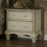 Hillsdale Wilshire 4 Piece Bedroom Set in Antique White-Queen ...
