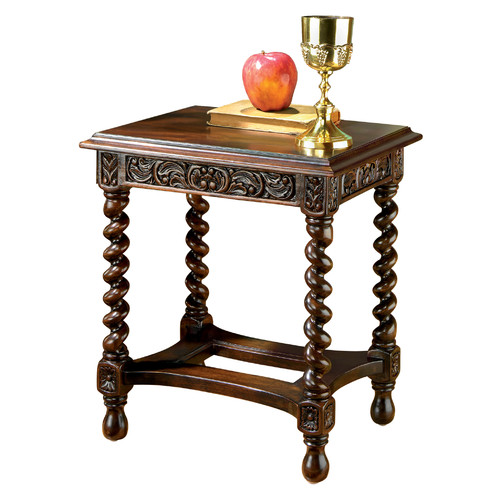 Design Toscano End Table