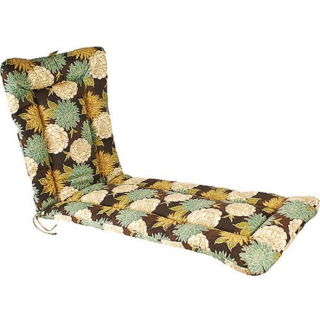 Jordan manufacturing outdoor floral euro style chaise for Chaise 20 euros
