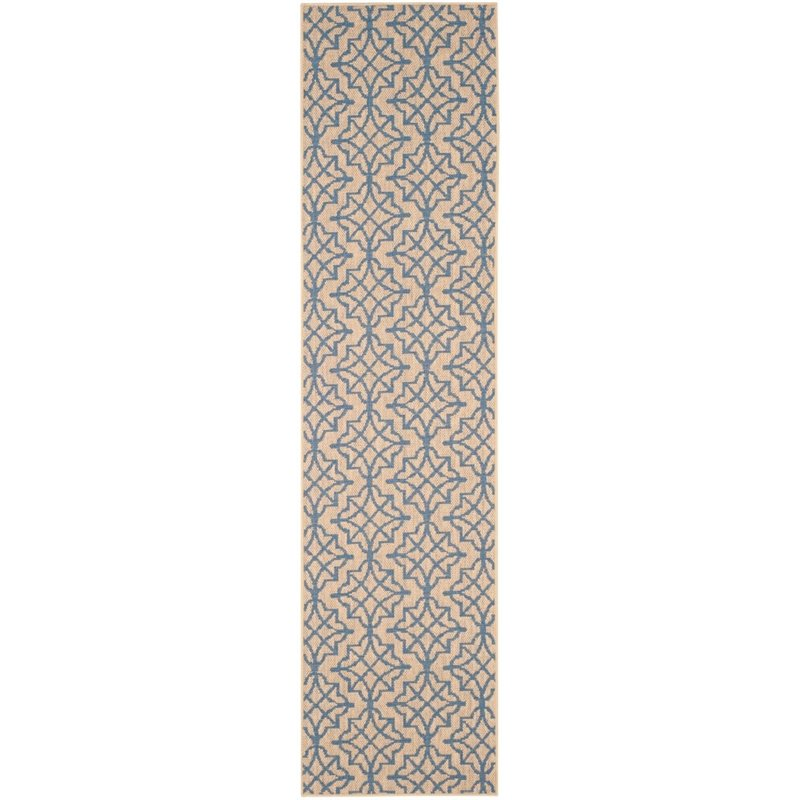 Safavieh Palm Beach 4' X 6' Hand Woven Rug in Natural and Black - image 7 de 8