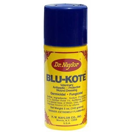 2PK DrNaylors .5 OZ Aerosol Blue-Kote Antiseptic (Kote Aerosol)